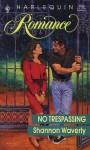 No Trespassing - Shannon Waverly