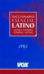 Dicc. Esencial Latino-espanol Vox - Vox