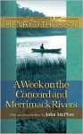 A Week on the Concord and Merrimack Rivers (Writings of Henry D. Thoreau) - Henry David Thoreau, Carl F. Hovde, William L. Howarth, Elizabeth Hall Witherell, John McPhee