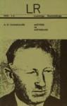 Mõtteid ja mõtisklusi - A.H. Tammsaare, Elem Treier