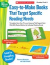 Easy-to-Make Books That Target Specific Reading Needs: Templates, Easy How-to's, and Lessons That Support Each Child With Books Matched to Individual Reading Needs - Florence Miyamoto, Joan Novelli