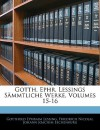 Sämmtliche Werke - Gotthold Ephraim Lessing, Friedrich Nicolai, Johann Joachim Eschenburg