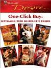 One-Click Buy: September 2010 Silhouette Desire - Brenda Jackson, Yvonne Lindsay, Kathie DeNosky, Day Leclaire