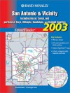 Rand McNally San Antonio & Vicinity Streetfinder: Including Bexar, Comal, and Portions of Hays, Gillespie, Guadalupe, and Kendall Counties - Rand McNally
