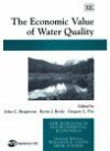The Economic Valuation of Water Quality - John C. Bergstrom, Kevin Boyle