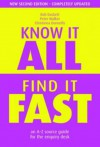 Know It All, Find It Fast: An A-Z Source Guide for the Enquiry Desk - Bob Duckett, Peter Walker, Christinea Donnelly