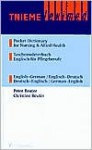 Pocket Dictionary for Nursing & Allied Health: English-German / German-English - Peter Reuter