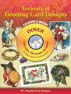 Treasury of Greeting Card Designs CD-ROM and Book - Carol Belanger Grafton