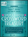 Simon & Schuster Crossword Treasury #40 - Eugene T. Maleska, John M. Samson