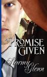 A Promise Given - Stormy Glenn