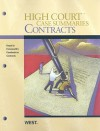 High Court Case Summaries on Contracts (Keyed to Farnsworth, Sixth Edition) - Dana Blatt