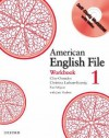 American English File 1 Workbook: With Multi-ROM - Clive Oxenden, Paul Seligson, Christina Latham-Koenig