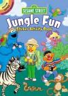 Sesame Street Jungle Fun Sticker Activity Book - Sesame Street