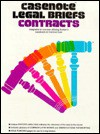 Contracts - Norman Goldenberg, Casenote Legal Briefs