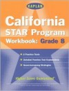 Kaplan California Star Program Workbook: Grade 8 - Cynthia Johnson