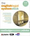 Memory Stick Product English Legal System 8/e + Q&A 6/e - Gary Slapper