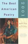The Best American Poetry 2001 - Robert Hass, David Lehman