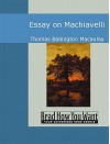 Essay on Machiavelli (Large Print) - Thomas Babington Macaulay