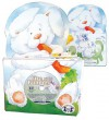 Five Little Bunnies Bunny Lap Board Book With Cd (Lap Books & Cd) - Twin Sisters Productions, Karen Mitzo Hilderbrand, Hal Wright, Dorothy M. Stott