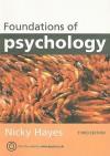 Foundations of Psychology - Nicky Hayes