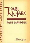 Karl Marx: The Man - Paul Lafargue, Henry Kuhn