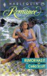 Rumor Has It (Harlequin Romance, #3040) - Celia Scott