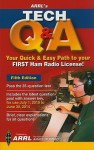 Arrl's Tech Q & A: Your Quick & Easy Path to Your First Ham Radio License! - Ward Silver, Mark Wilson, Maty Weinberg
