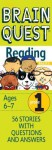 CARDS: Brain Quest Grade 1 Reading - NOT A BOOK
