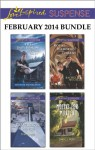 Love Inspired Suspense February 2014 Bundle: The Baby RescueTreacherous SlopesRoyal Wedding ThreatMotive for Murder - Margaret Daley, Terri Reed, Rachelle McCalla, Carol J. Post