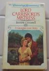 Lord Carrisford's Mistress - Jasmine Cresswell