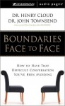 Boundaries Face to Face (Audio) - Henry Cloud
