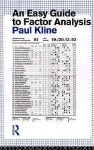 An Easy Guide to Factor Analysis - Paul Kline