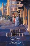 In All Honour - Beth Elliott