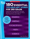 180 Essential Vocabulary Words for 3rd Grade: Independent Learning Packets That Help Students Learn the Most Important Words They Need to Succeed in School - Linda Ward Beech