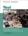 Real Writing - Susan Anker