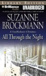 All Through the Night: A Troubleshooter Christmas (Audio) - Suzanne Brockmann, Michael Holland