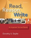 Read, Reason, Write - Book Alone - Dorothy U. Seyler