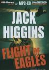 Flight Of Eagles - Jack Higgins, Michael Page