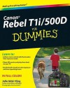 Canon EOS Rebel T1i / 500D For Dummies - Julie Adair King