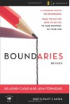 Boundaries Participant's Guide---Revised: When To Say Yes, How to Say No to Take Control of Your Life - Henry Cloud, John Townsend