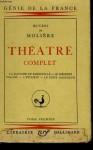 Théâtre Complet - Tome 1 - Molière