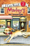 Marley: Marley's Big Adventure: I Can Read Level 2 (I Can Read Book 2) - John Grogan, Richard Cowdrey