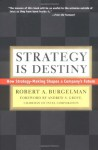 Strategy Is Destiny: How Strategy-Making Shapes a Company's Future - Robert A. Burgelman, Andrew S. Grove