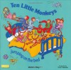 Ten Little Monkeys: Jumping on the Bed (Classic Books With Holes) - Tina Freeman