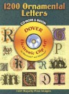 1200 Ornamental Letters CD-ROM and Book - Dover Publications Inc.