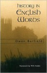 History in English Words - Owen Barfield, W.H. Auden