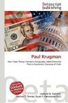 Paul Krugman - Lambert M. Surhone, VDM Publishing, Susan F. Marseken