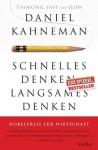 Schnelles Denken, langsames Denken - Daniel Kahneman, Thorsten Schmidt