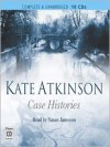 Case Histories: Jackson Brodie Series, Book 1 (MP3 Book) - Kate Atkinson, Susan Jameson