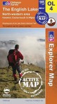 MAP: The English Lakes North Western Area (Os Explorer Map Active) - NOT A BOOK